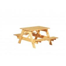 Детский садовый стол из массива сосны - Пикник.