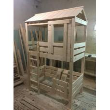 Кровать - домик, двухъярусная.