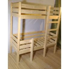 Детская кроватка два яруса EKO-DOUBLE
