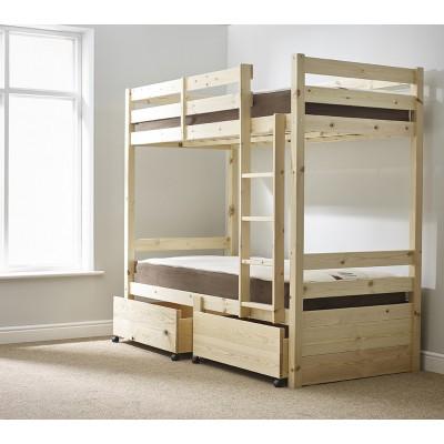 Кровать двухъярусная с дополнительным спальным местом - Эверест