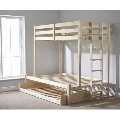 Кровать двухъярусная с выкатным спальным местом - Хэви