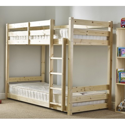 Заниженная двухъярусная кровать - Плуто