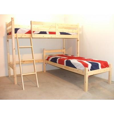 Кровать чердак - Селеста и кровать односпальная - Кливленд